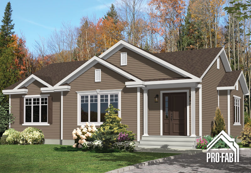Raffin e manufactured homes and prefab homes groupe pro fab inc for Constructeur maison prefabriquee