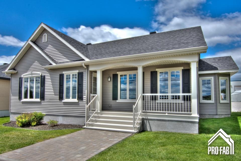 Pro fab constructeur de maisons modulaires usin es pr fabriqu es mod le turquoise for Maison modele profab