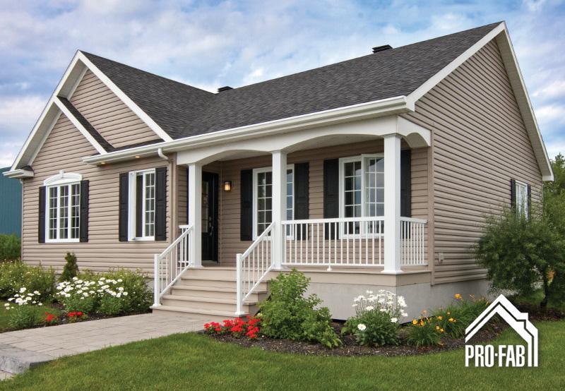 Pro fab constructeur de maisons modulaires usin es pr fabriqu es mod le - Modele maison champetre ...