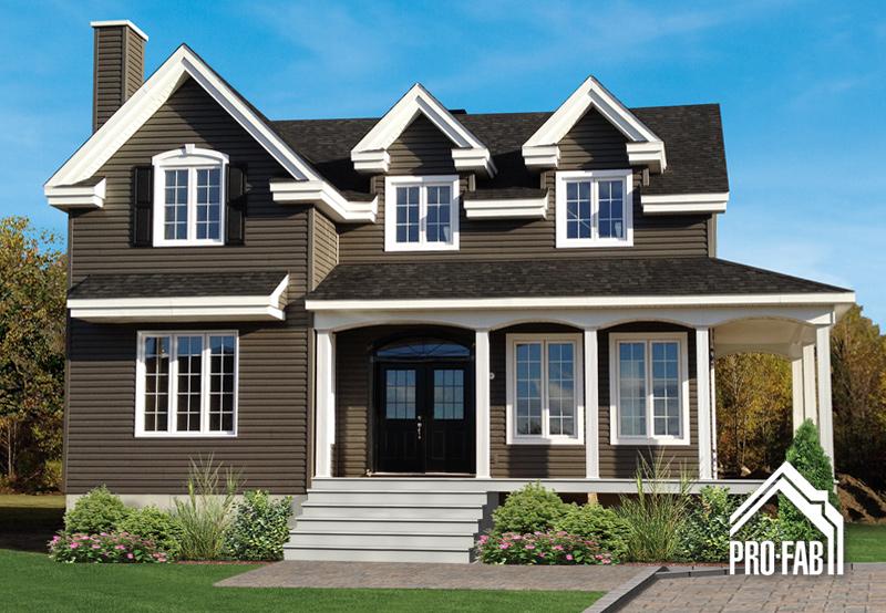 Pro fab constructeur de maisons modulaires usin es pr fabriqu es mod le versailles for Maison modele profab