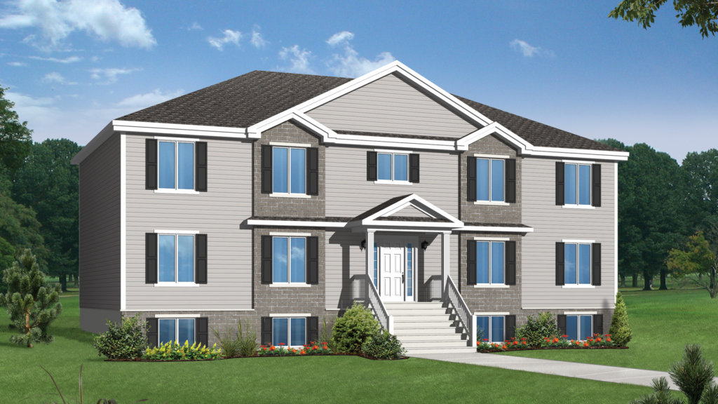 Mod le c sar maison multilogements tradition pro fab constructeur de maisons modulaires et for Maison profab prix