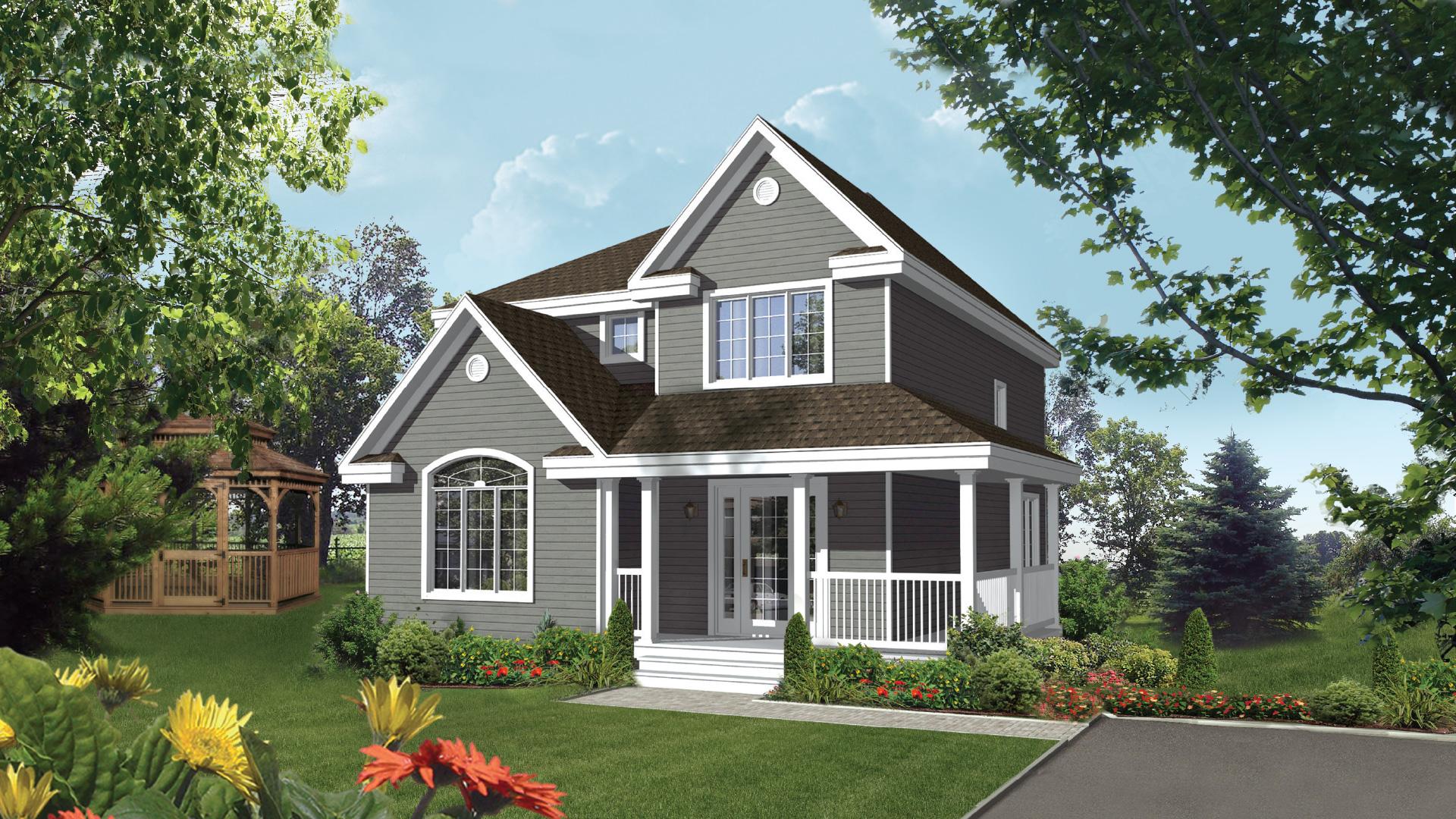 Mod le champ tre maison champ tre pro fab constructeur for Modele maison champetre