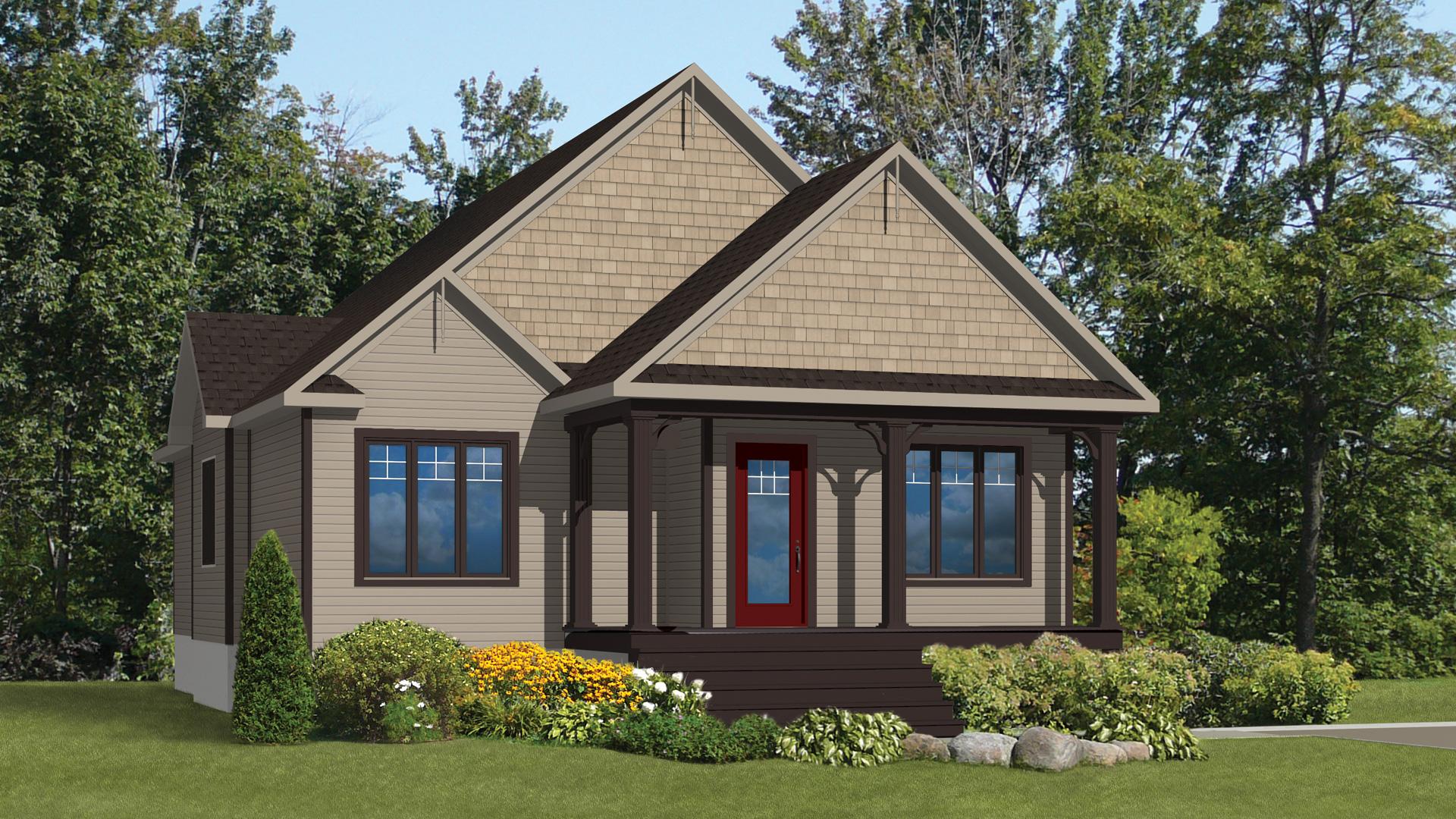Mod le coralie maison champ tre pro fab constructeur for Modele maison champetre