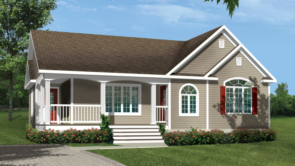 Mod le iris maison champ tre pro fab constructeur de for Modele maison champetre