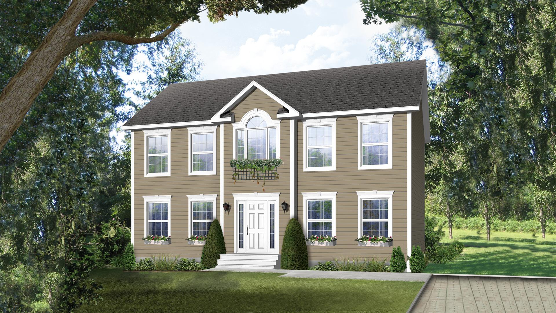 Mod le st malo maison de style tradition pro fab for Constructeur de maison individuelle saint malo