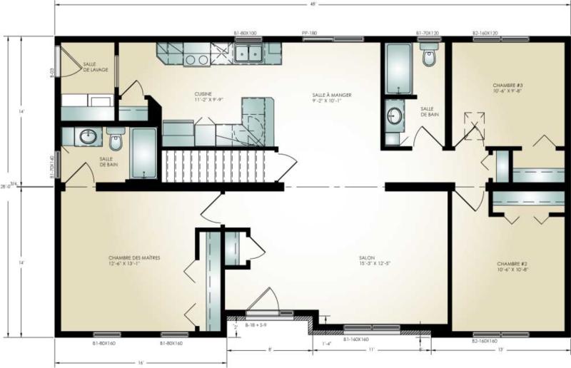 Spacieuse definition c 39 est quoi - Plan de maison modulaire ...