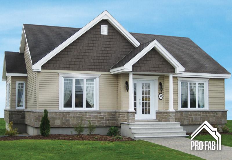 Pro fab constructeur de maisons modulaires usin es pr fabriqu es mod le cordiale for Maison modele profab