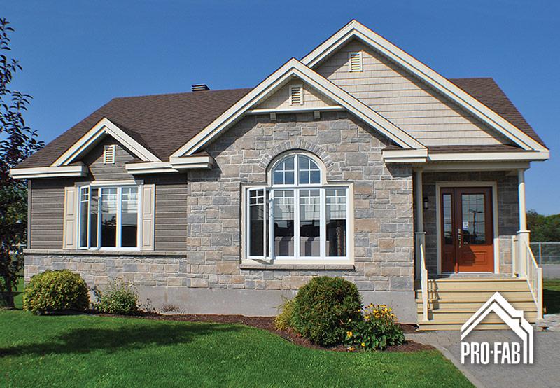 Pro fab constructeur de maisons modulaires usin es pr fabriqu es mod le distingu e for Maison profab prix