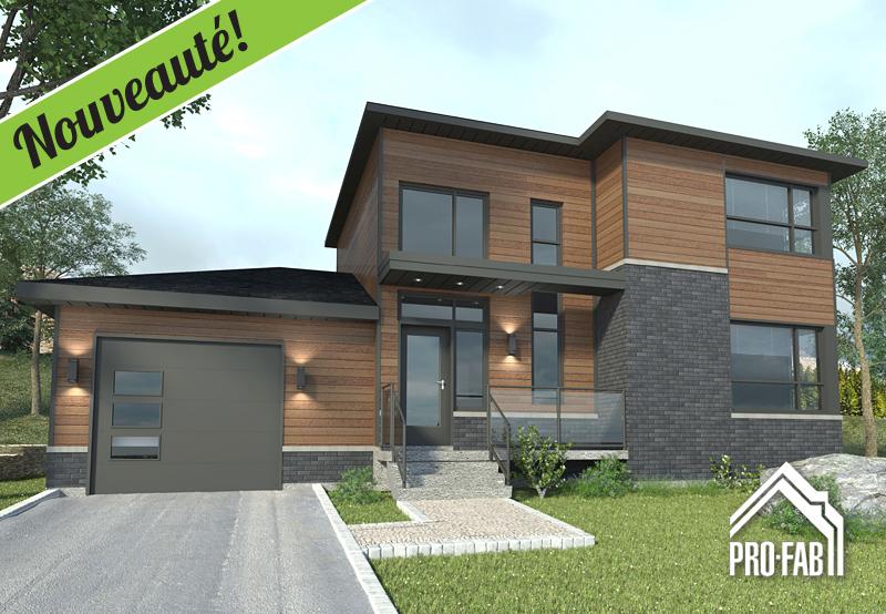 Pro fab constructeur de maisons modulaires usin es pr fabriqu es mod le exelsa for Maison profab prix