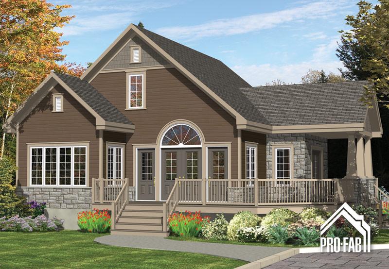 Pro fab constructeur de maisons modulaires usin es pr fabriqu es mod le hirondelle for Maison modele profab