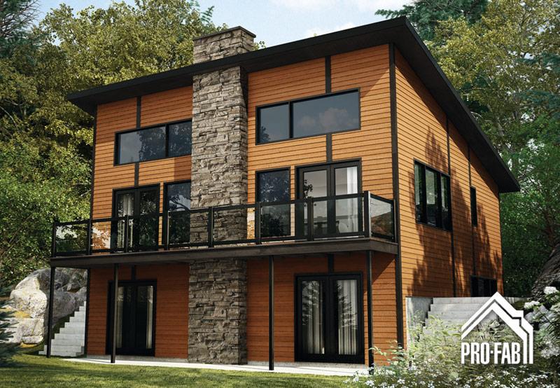 Pro fab constructeur de maisons modulaires usin es for Maison container normandie