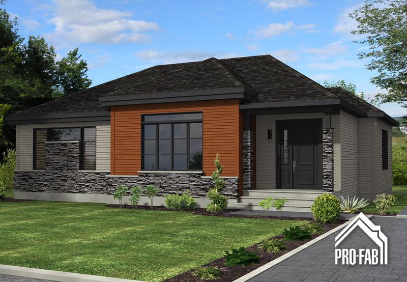 Pro fab constructeur de maisons modulaires usin es pr fabriqu es mod le kenya for Maison modele profab