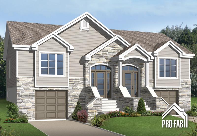 Pro fab constructeur de maisons modulaires usin es pr fabriqu es mod le souverain for Maison modele profab