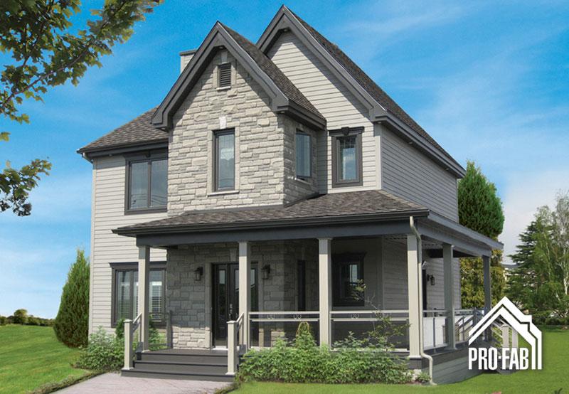 Pro fab constructeur de maisons modulaires usin es for Maison mason