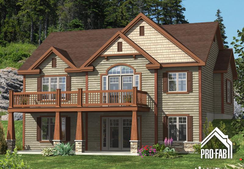 Pro fab constructeur de maisons modulaires usin es pr fabriqu es mod le tourneau for Maison modele profab