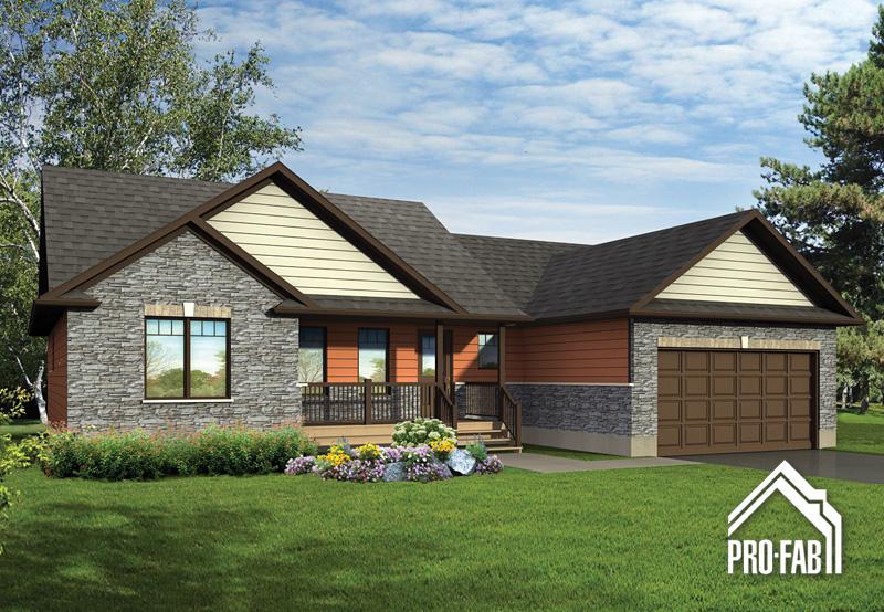 Pro fab constructeur de maisons modulaires usin es pr fabriqu es mod le muscari for Maison profab prix