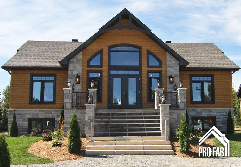 Pro fab maison modulaire aigle royal for Modele interieur maison