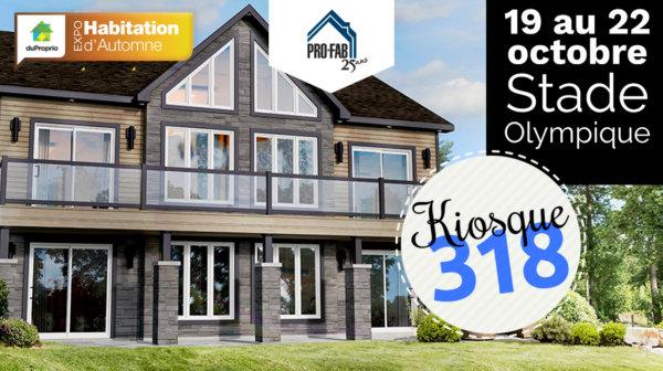 Favori Groupe PRO-FAB inc. | Maisons modulaires usinées et préfabriquées TS54
