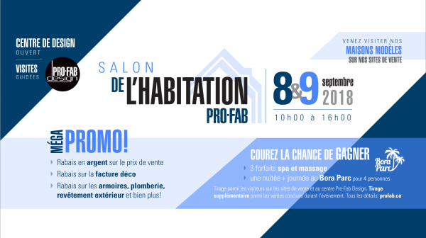Salon de l'habitation Pro-Fab